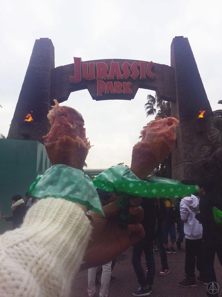Jurassic Park Turkey Leg Universal Studios Japan