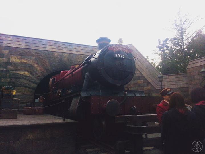 Hogwart Express Universal Studios Japan