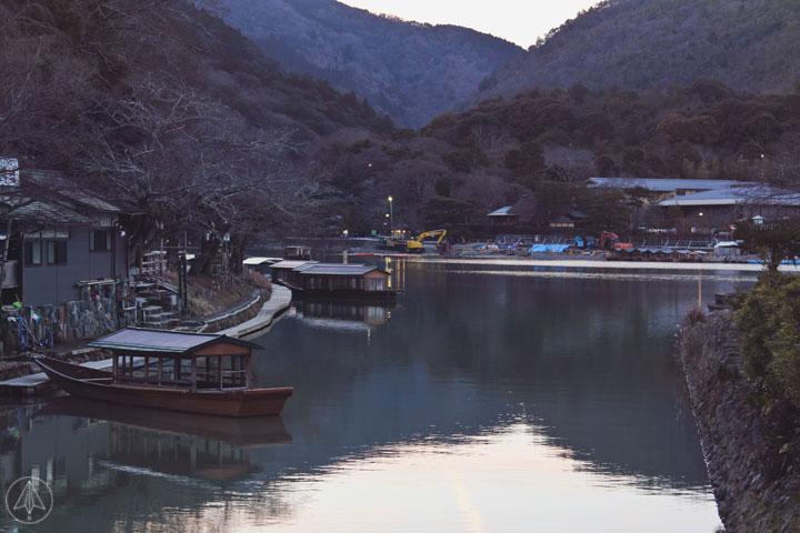 Arashiyama District River