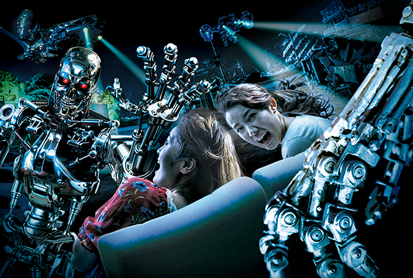 Universal Studios Japan Terminator 2:3D