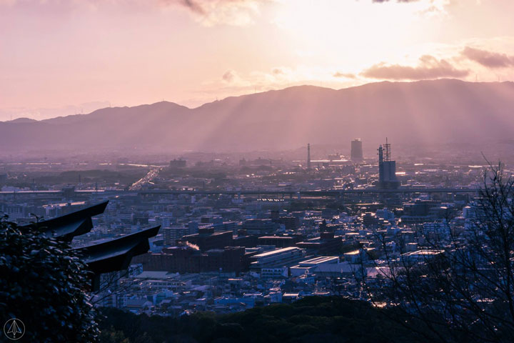 Yotsutsuji intersection view
