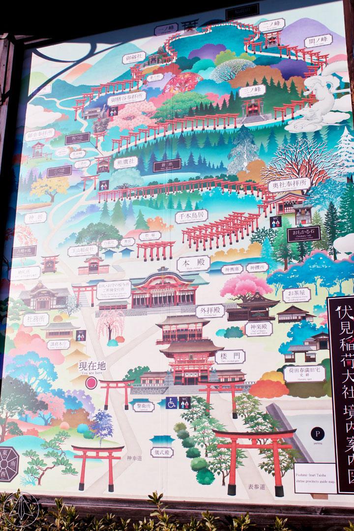 Fushimi Inari Torii Japan