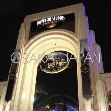 Osaka Japan Universal Japan Gate