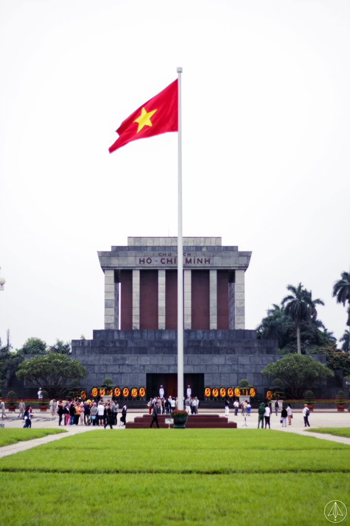 Flag Tower of Hanoi Vietnam