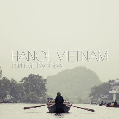 Yen stream Perfume Pagoda Hanoi Vietnam